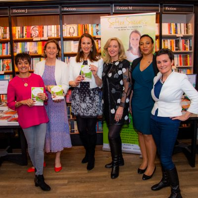 Cara De Lange launches her first book, Softer Success.